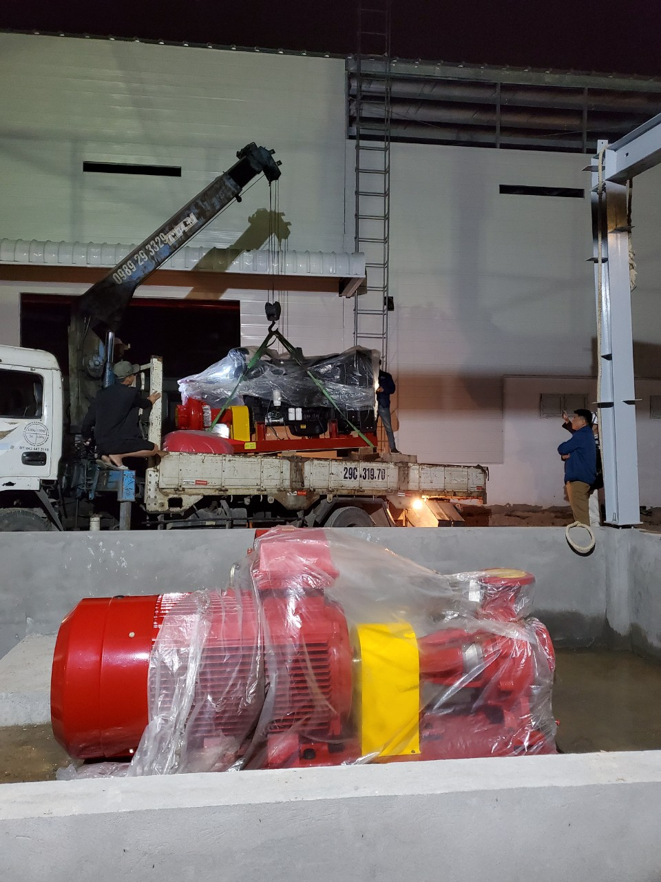 Lắp máy bơm chữa cháy Công ty TNHH MTV Misawa Engineering Việt Nam thumbnail